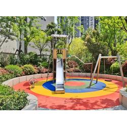 宣城幼儿园不锈钢滑梯厂家-不锈钢滑梯(天利游乐)(查看)图片