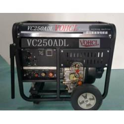 四冲程汽油动力三相250A柴油发电电焊机图片