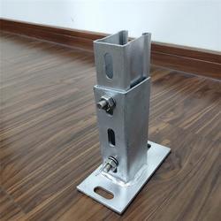 福州光伏支架-实能-几字型钢立柱地桩来图加工图片