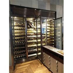 不锈钢酒柜、不锈钢恒温酒柜、定做不锈钢酒柜图片