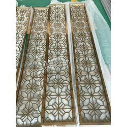 玫瑰金不锈钢屏风装饰-不锈钢隔断-西藏玫瑰金不锈钢屏风图片