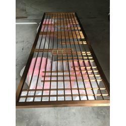 不锈钢屏风花格-不锈钢隔断-不锈钢屏风图片