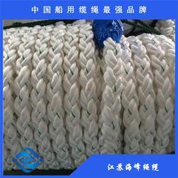 八股锦纶缆绳  工厂图片