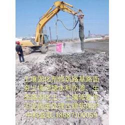 淤泥泥土固化剂鱼池湖泊堆积淤泥土固化剂污泥改性固化剂图片
