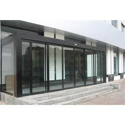 办公楼 自动门、自动门、沧盛铜门(查看)图片