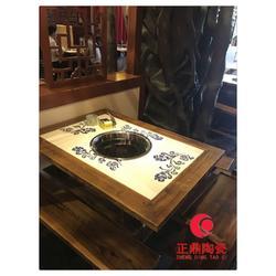 瓷板画定制 陶瓷火锅桌面背景定制图片