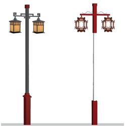 七度照明品质保障厂家直销-肇庆仿古中式庭院灯价图片
