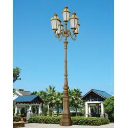 歐式庭院燈單頭-東莞七度照明產品耐用-歐式庭院燈圖片