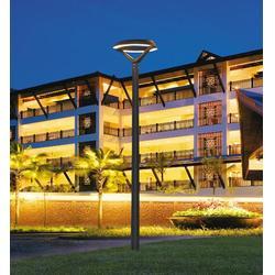 阳江公园3米铸铝庭院灯价、景观工程优选-七度照明图片