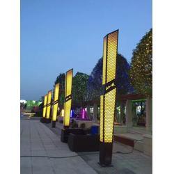 惠州广场LED景观灯柱生产厂家 七度照明非标定制源头厂家
