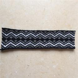 雪花点提花罗纹加工-雪花点提花罗纹-银美纺织制品(查看)图片