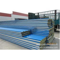 阜阳岩棉夹芯板-安徽岩棉夹芯板供应厂家直销-金宇钢结构图片