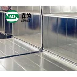 矩形铁皮通风管道加工效率高,质量保证,便宜图片