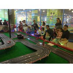 飞时代儿童轨道赛车路轨赛车游乐设备厂家加盟图片