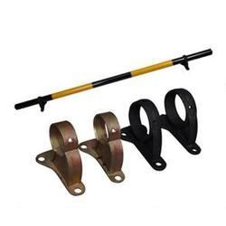铸铁底座 挡轮杆底座 车位杆支架 车轮定位器底座图片