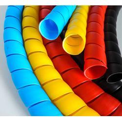 包邮 彩色塑料液压螺旋保护套 电缆电线弹簧护套 洗车水管保护套图片