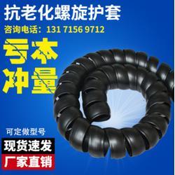 HPS-8 螺旋胶管保护套 刹车线保护套 塑料螺旋油管保护套耐磨图片