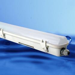 辉冠照明自产自销-单灯条PC三防支架-PC三防支架图片