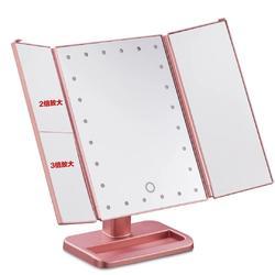 LED补妆镜带灯镜面板材补光镜子镜面板