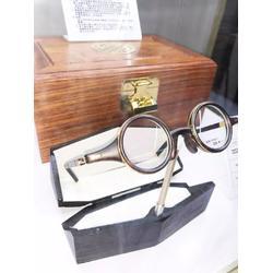 贵州18K金眼镜-玉山商务钛架眼镜-商务18K金眼镜工艺图片