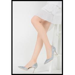 帆布高跟女鞋-龙湖区高跟女鞋-科可商贸(查看)图片