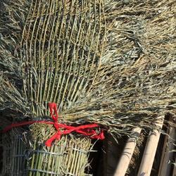 工厂现货笤帚 扫把 竹扫把 学校工地清洁专用 儿童扫把图片