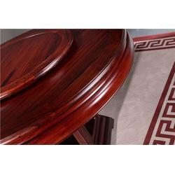 明式红木圆桌电话图片
