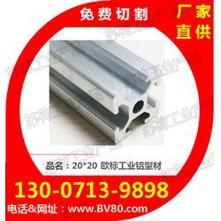 2020铝型材-20*20铝材配件-支架铝型材-苏荷工业产品公司图片