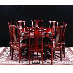 缅甸花梨家具书桌图片