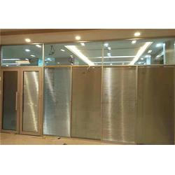 百叶办公隔断多少钱一平-量达玻璃-滑县百叶办公隔断图片