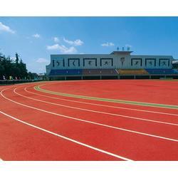 安庆塑胶跑道|安徽国优体育工程公司|园林塑胶跑道施工