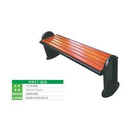塑木公园椅报价、武汉公园椅、豪峰环卫可加工定制图片