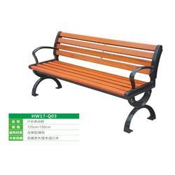 公园椅,公园塑木椅子,豪峰环卫(优质商家)图片