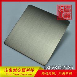 304拉丝灰钢不锈钢装饰板 不锈钢彩色板厂家直销图片