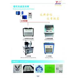 全自动服装压花机 服装矽矽利康商标成型机图片