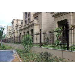 铁艺围墙护栏定制,【晨盛铁艺大门】,铁艺围墙护栏图片