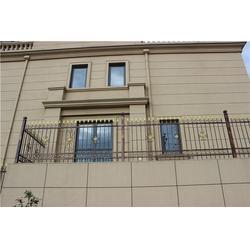 别墅铁艺大门设计,晨盛铁艺庭院门,温州铁艺大门图片