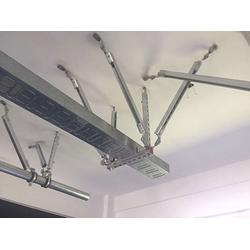 昭通桥架抗震支架-宗团水管抗震支架-管廊桥架抗震支架图片