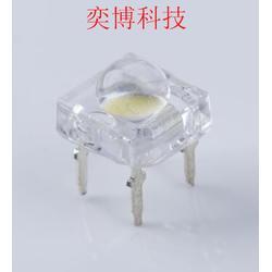 奕博科技直供发光二极管LED灯珠 F5四芯食人鱼白光图片