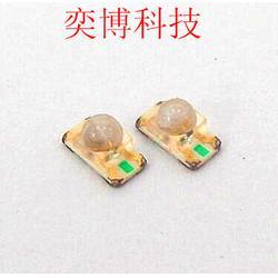 厂家直销LED灯珠,发光二极管,1206凸头球头红普绿双色图片