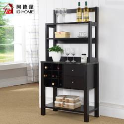 餐边柜现代简约碗柜简易橱柜多功能厨房柜子带门茶水柜酒柜包安装图片