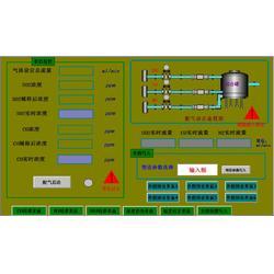 二氧化硫传感器校准动态配气仪图片