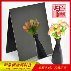 304不锈钢黑镜钢装饰板厂家供应 彩色不锈钢板图片