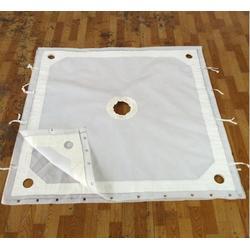 供应陶瓷行业用压泥机滤布 高岭土专用耐磨丙纶滤布图片