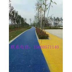 彩色沥青专用色粉-红色、绿色、黄色图片