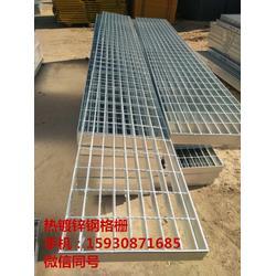 钢格栅盖板 变压器周边金属钢格栅 镀锌格栅板图片