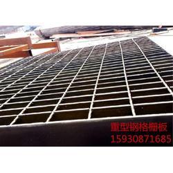 钢结构平台钢格板 钢格栅板用途 电厂钢格栅图片