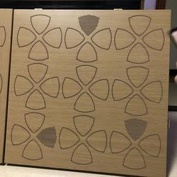 供应木纹雕花铝板 镂空铝板图片