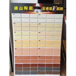 彩码外墙砖生产厂家 纸皮砖 仿古砖图片