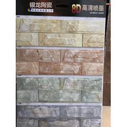 别墅外墙砖 45*145通体外墙砖自建房图片